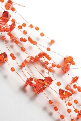 Garland, 5 Feet Long, Set of 2, Orange