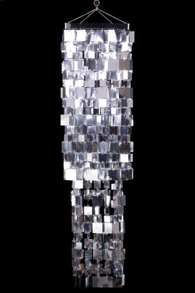Chandelier Fabulous Square  - Silver - 4 ft Long