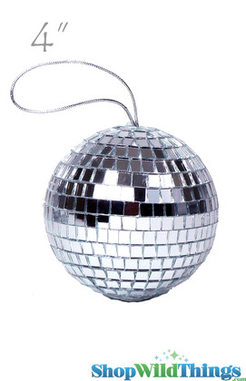 """4"""" Mirror Disco Ball Ornament"""