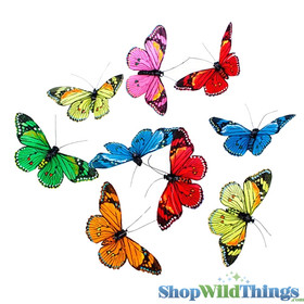 Colorful Rainbow Butterfly Pride Butterflies Hanging Garland