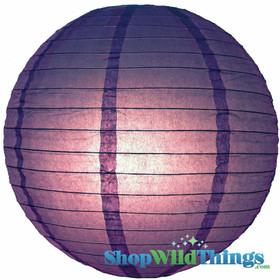 """BOGO Round Paper Lantern 12"""" Purple"""