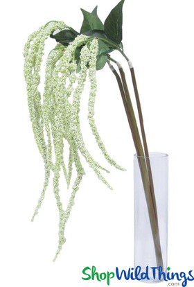 Amaranthus Floral Spray Extra Long for Draping ShopWildThings.Com