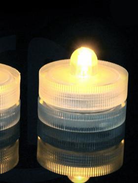 DazzLED Submersible Warm White LED Lights - Set of 10