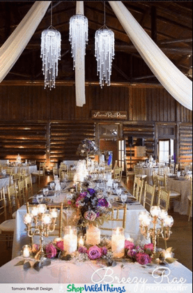 Large Affordable Event Venue Chandeliers by ShopWildThings.com