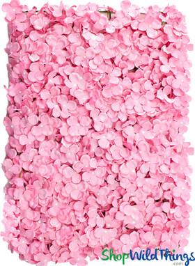 "Flower Wall Silk Plumeria Frangipani 15.5"" x 23"" - Pink"