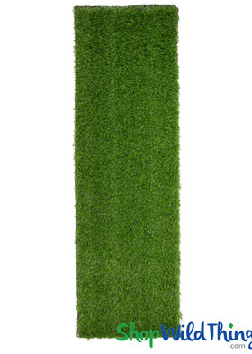 Faux Grass Mat Runner, Green Table Runner by ShopWildThings.com