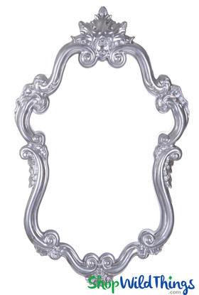 "Photo Prop Frame Silver - 32"" x 20 1/2"""