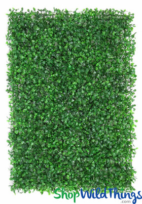 Green Artificial Boxwood Backdrop Panels - ShopWildThings.com