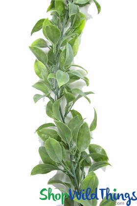 Artificial leaf garland | Faux leaf vine | Faux vine to wrap columns | ShopWildThings.com