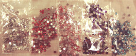 SALE! 1,500 Pcs Flatback Rhinestones - 7mm Round - Choose Your Color!