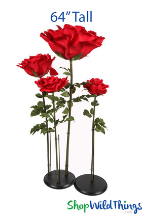 Oversized Artificial Roses ShopWildThings