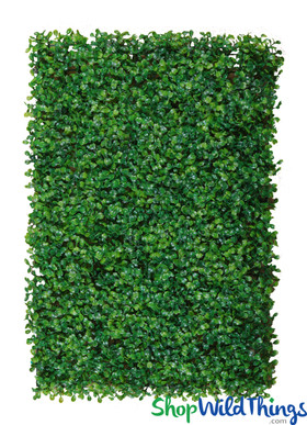Artificial Boxwood Wall Panel Mat for Backdrops ShopWildThings.com
