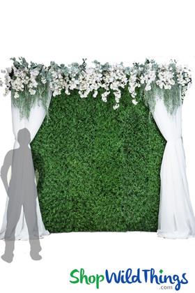 Greenery Wall Kit - 8' x 8' Portable Backdrop Kit - Asstd. Lush Foliage