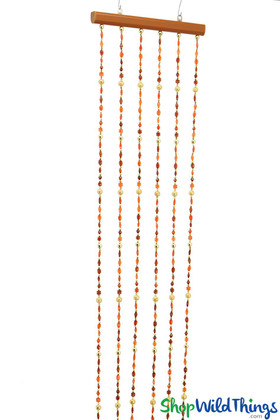 "Multi-Color Gems ""Cheyenne"" Beaded Curtain - 1'W x 6'L"