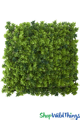 "Variegated Greenery Wall Mat - 10"" Square"