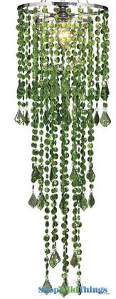 Chandelier - Diamante Duo Delight - Cactus Green