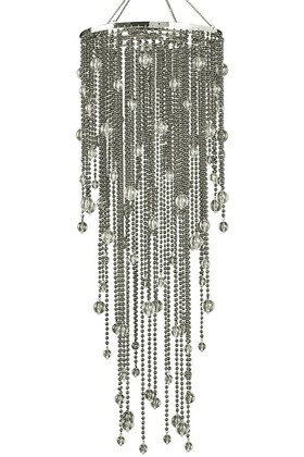 Chandelier Vanessa Metallic Ball Chain  39""