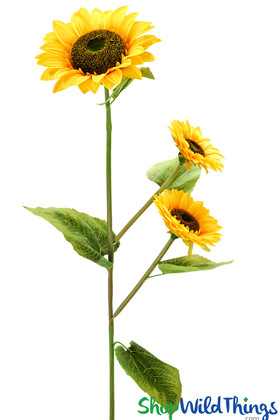Large Artificial Sunflowers ShopWildThings