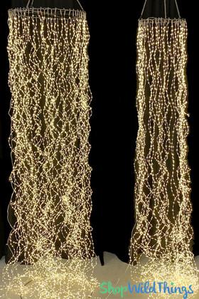 LED Fairy Light Canopy Columns ShopWildthings.com