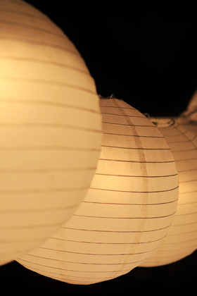 LED Paper Lantern Lights