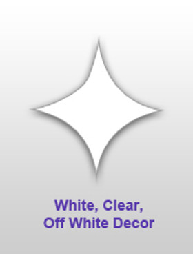 White, Clear & Ivory