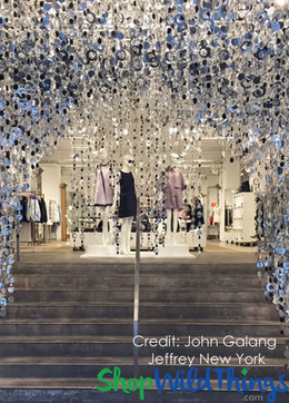 Retail Display - Jeffery New York - PVC Curtains
