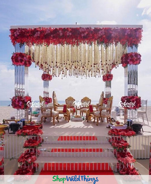 Mirror Mandaps Elevate Weddings Around the World