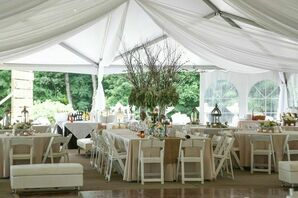 Chic & Functional | Reception Tent as Outdoor Art