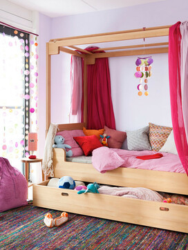 Bead Curtains Showcase Space in Your Kids' Rooms