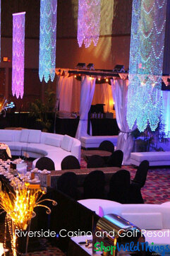 Riverside Casino and Golf Resort Event Decor