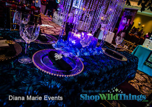 Event Design | Perfectly Lit Centerpieces