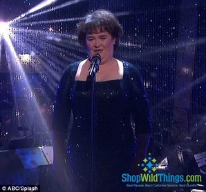 Susan Boyle on Dancing with the Stars