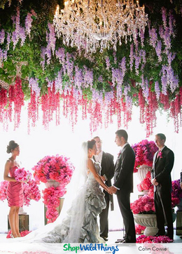 Wedding Reception Chandelier Ideas