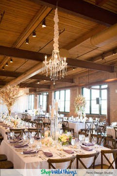 Chandeliers - Wedding and Reception Focal Points
