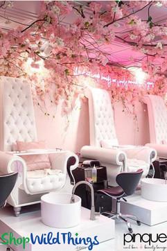 Decorating a Salon or Beauty Studio - Pinque