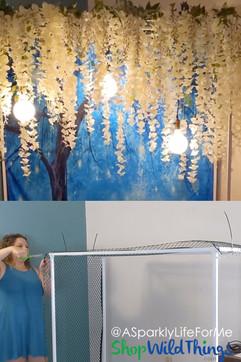 Create a Bridgerton Inspired Nook With an Arbor