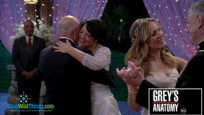Grey's Anatomy Wedding - Light Strand Backdrops