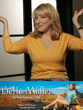 Bette Midler Vegas Show:  The Showgirl Must Go On