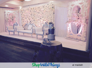 Flower Wall Backdrops |  Turn Drab Into Elegant!