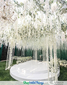 Floral Canopy - Faux Florals Customize Your Event