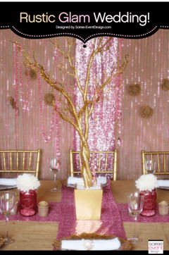 Soiree-Event Design Pink & Gold Party