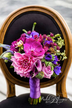 Radiant Orchid & Jewel Toned Wedding Decor