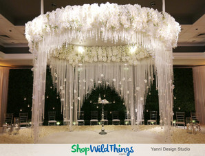 Black, White and Romantic All Over Receptions