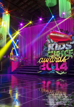 Kids Choice Awards Nickelodeon - Columns & Trees