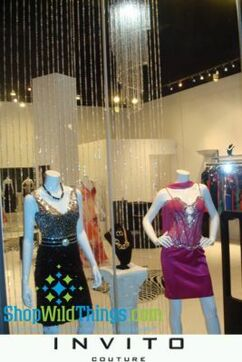 Invito Couture Vancouver & Huge Chandeliers