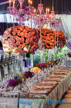 The Highs and Lows of Centerpiece Design
