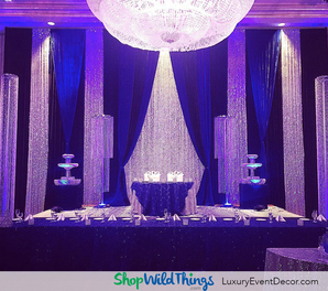 How to Decorate a Sparkly Wedding or Event