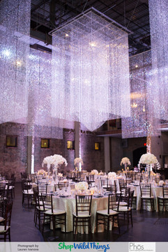 Diamond Curtains Add Drama/Disguise Infrastructure