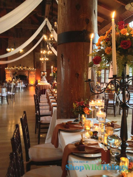 Sumptuous Fall Centerpieces|More Wedding Wow from
