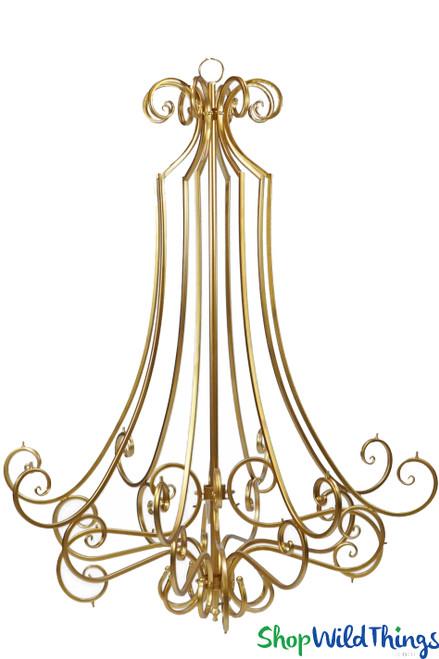 Giant  Floral Chandelier Frame | DIY Floral Chandelier | ShopWildThings.com